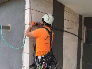 שמירה על בטיחות בעבודות בנייה