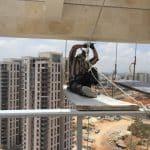 עבודות גובה בסנפלינג, שיקום מבנים